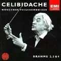 Brahms: Symphonies no 2, 3 & 4 / Celibidache, Munchner Philharmoniker