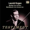 ブラームス: ヴァイオリン協奏曲 作品77、メンデルスゾーン: ヴァイオリン協奏曲 作品64