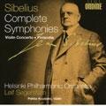 Segerstam, Leif/Helsinki Philharmonic/SIBELIUS:COMPLETE SYMPHONIES/VIOLIN CONCERTO/FINLANDIA:LEIF SEGERSTAM(cond)/HELSINKI PHILHARMONIC ORCHESTRA/PEKKA KUUSISTO(vn)/ETC [ODE1075]