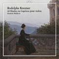 Kreutzser: 40 Etudes ou Caprices pour Violin / Elizabeth Wallfisch(vn)