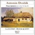 Dvorak: Piano Quintets / Ivan Klansky, Prazak Quartet