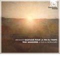 Messiaen: Quatuor pour la Fin du Temps, Theme & Variations for Violin & Piano / Trio Wanderer, Pascal Moragues(cl)