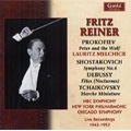 Fritz Reiner -Live Recordings 1943-1957: Mozart, Prokofiev, Shostakovich, Tchaikovsky, etc / Lauritz Melchior(narrator), NBC SO, etc
