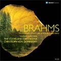 Brahms:Symphonies No.1-No.4/Overtures op.80/op.81/Violin Concerto op.77/etc:Christoph von Dohnanyi(cond)/Cleveland Orchestra/etc