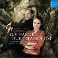 Handel : Opera Arias & Duets -Poro, Serse, Admeto, Muzio Scevola, etc (8/11-15/2007)  / Nuria Rial(S), Lawrence Zazzo(C-T), Laurence Cummings(cond), Basel Chamber Orchestra