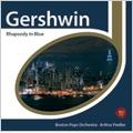 Gershwin: Rhapsody in Blue, An American in Paris / Earl Wild(p), Arthur Fiedler(cond), Boston Pops Orchestra