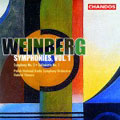 Weinberg: Symphonies Vol 1 / Gabriel Chmura, Polish RSO