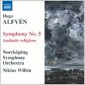 Alfven: Symphony No.5/Andante Religioso:Niklas Willen(cond)/Norrkoping Symphony Orchestra