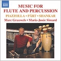 Grauwels:Music For Flute & Percussion:Piazzolla/Lysight/Wilder/etc:Marc Grauwels