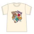 Keison x Leyona x EDWIN 限定コラボ Tシャツ(ベージュ/サイズS)