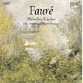 FAURE:LIEDER, COMPLETE SONGS:ELLY AMELING(S)/GERARD SOUZAY(Br)/DALTON BALDWIN(p)