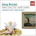 Jonathan Lemalu -Song Recital :Brahms, Schubert, Faure, Finzi, etc / Lars Vogt(p)