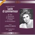 Donizetti : Lucia di Lammermoor (11/17/1972) / Jesus Lopez-Cobos(cond), San Francisco Opera Orchestra & Chorus, Beverly Sills(S), etc