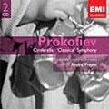 "PROKOFIEV:CINDERELLA/SYMPHONY NO.1 ""CLASSICAL"":ANDRE PREVIN(cond)/LSO"
