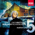 Mahler : Symphony no 5 / Rattle, Berlin PO