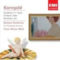 Korngold: Symphony, Lieder / Franz Welser-Most, Barbara Hendricks