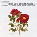 Fartein Valen: Orchestral Music Vol.1 -Pastorale Op.11, Sonetto di Michelangelo Op.17-1, Cantico di Ringraziamento Op.17-2, etc / Christian Eggen(cond), Stavanger SO, Elise Batnes(vn)