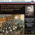 Miaskovsky : Complete Symphonies & Orch Works / Svetlanov, Russian State SO, etc