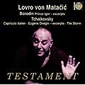 ボロディン(リムスキー=コルサコフ&グラズノフ編): 「イーゴリ公」(抜粋)[序曲、だったん人の行進、だったん人の踊り]、チャイコフスキー: イタリア奇想曲Op.45、他