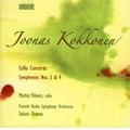 Kokkonen: Cello Concerto, Symphonies No.3, No.4 (3,10/2006) / Sakari Oramo(cond), Finnish Radio SO, Marko Ylonen(vc)