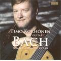 J.S.Bach: Sonatas for Solo Violin No.1-No.3 (11/2007) / Timo Korhonen(g)