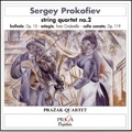 Prokofiev: String Quartet no 2, etc / Prazak Quartet