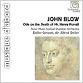 John Blow: Ode on the Death of Mr.Henry Purcell, Marriage Ode, Cloe Found Amyntas Lying (1970) / Alfred Deller(C-T/cond), Stour Music Festival Chamber Orchestra, Deller Consort, etc