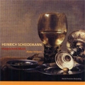 H.Scheidemann: Harpsichord Music -Praeambulum, Betrubet ist zu dieser Frist, Ballet & Variation, etc / Peter Dirksen(cemb)