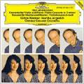 Mendelssohn: Concerto for Violin, Piano & Strings, Violin Concerto Op.posth / Gidon Kremer(vn), Martha Argerich(p), Orpheus Chamber Orchestra