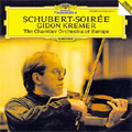 Schubert-Soiree: Konzertstuck, Polonaise D.580, etc / Gidon Kremer(vn), The Chamber Orchestra of Europe