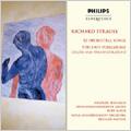 R.Strauss: 12 Orchestral Songs, Tod und Verklarung / Siegfried Jerusalem(T), Kurt Masur(cond), Leipzig Gewandhaus Orchestra, Bernard Haitink(cond), RCO, etc