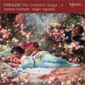 R.Strauss: Complete Songs, Vol.3 / Andrew Kennedy(T), Roger Vignoles(p)