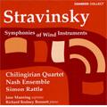 Stravinsky: Symphonies of Wind Instruments, etc / Rattle