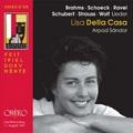Lisa Della Casa - Brahms, Schoeck, Ravel, Schubert, etc
