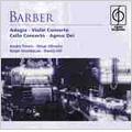Barber: Adagio, Violin Concerto, Cello Concerto, Agnus Dei / Elmar Oliveira(vn), Ralph Kirshbaum(vc), Andre Previn(cond), LSO, etc