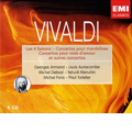 """Vivaldi : Violin Concertos Op.8 No.1-No.4 """"Four Seasons"""", Mandolin Concertos, Viola d'amore Concertos, etc / Louis Auriacombe(cond), Toulouse Chamber Orchestra, Georges Armand(vn), etc"""