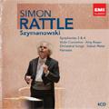 Szymanowski : Symphonies No.3, No.4, Violin Concertos No.1, No.2, King Roger, etc (1993-2006)  / Simon Rattle(cond), City of Birmingham SO & Chorus, etc<限定盤>