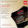 R.Strauss: Salome / Herbert von Karajan, VPO, Hildegard Behrens, etc [CD+CD-ROM]