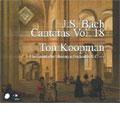 Bach: Cantatas Vol. 18/ Koopman