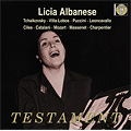 Licia Albanese -Works by Tchaikovsky, Villa-Lobos, Puccini, etc (1945-51) / Frieder Weissman(cond), RCA Victor Orchestra, etc