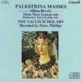 Palestrina: Masses Brevis / Phillips, Tallis Scholars