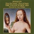 Josquin: Missa Sine Nomine, Missa Ad Fugam / Peter Philips(cond), The Tallis Scholars