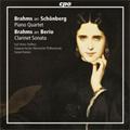 Brahms: Piano Quartet Op.25, Clarinet Sonata Op.120-1 (for Orchestra) / Karl Heinz Steffens(cl), Daniel Raiskin(cond), Staatsorchhester Rheinische Philharmonie