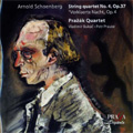 Schoenberg:String Quartet No.4 Op.37/Verklarte Nacht Op.4 :Prazak Quartet/Vladimir Bukac(va)/Petr Prause(vc)