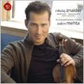 Beethoven: Violin Concerto Op.61; Mendelssohn: Violin Concerto Op.64 / Nikolaj Znaider(vn), Zubin Mehta(cond), Israel PO