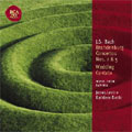 Classic Library:J.S.Bach:Brandenburg Concerto No.2/No.5/Wedding Cantata/etc:James Levine(cond&cemb)/CSO/etc