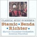 J.V.Stamic, F.Benda. Richter: Symphonies / Bohdan Warchal, Slovak Chamber Orchestra