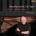 """Beethoven: Piano Concertos No.2 Op.19, No.5 Op.73 """"Emperor""""/ John O'Conor(p), Andreas Delfs(cond), LSO"""