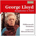 G.Lloyd :Symphonies No.4/No.5/No.8 :Edward Downes(cond)/Philharmonia Orchestra