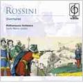 Rossini : Overtures -L'italiana in Algeri, Il Barbiere di Siviglia, Il Signor Bruschino, etc / Carlo Maria Giulini(cond), Philharmonia Orchestra